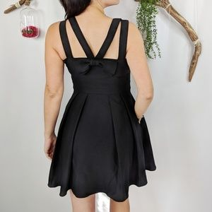 NEW KATE SPADE crepe bow back cocktail dress #0642